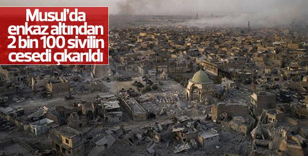 Musul'da enkazın altından binlerce ceset çıktı