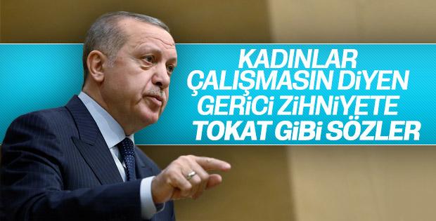 Başkan Erdoğan Kadın ve Adalet Zirvesi'nde