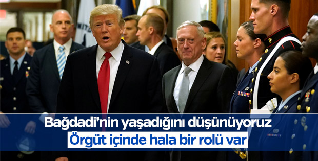Mattis: Bağdadi'nin yaşadığını düşünüyorum