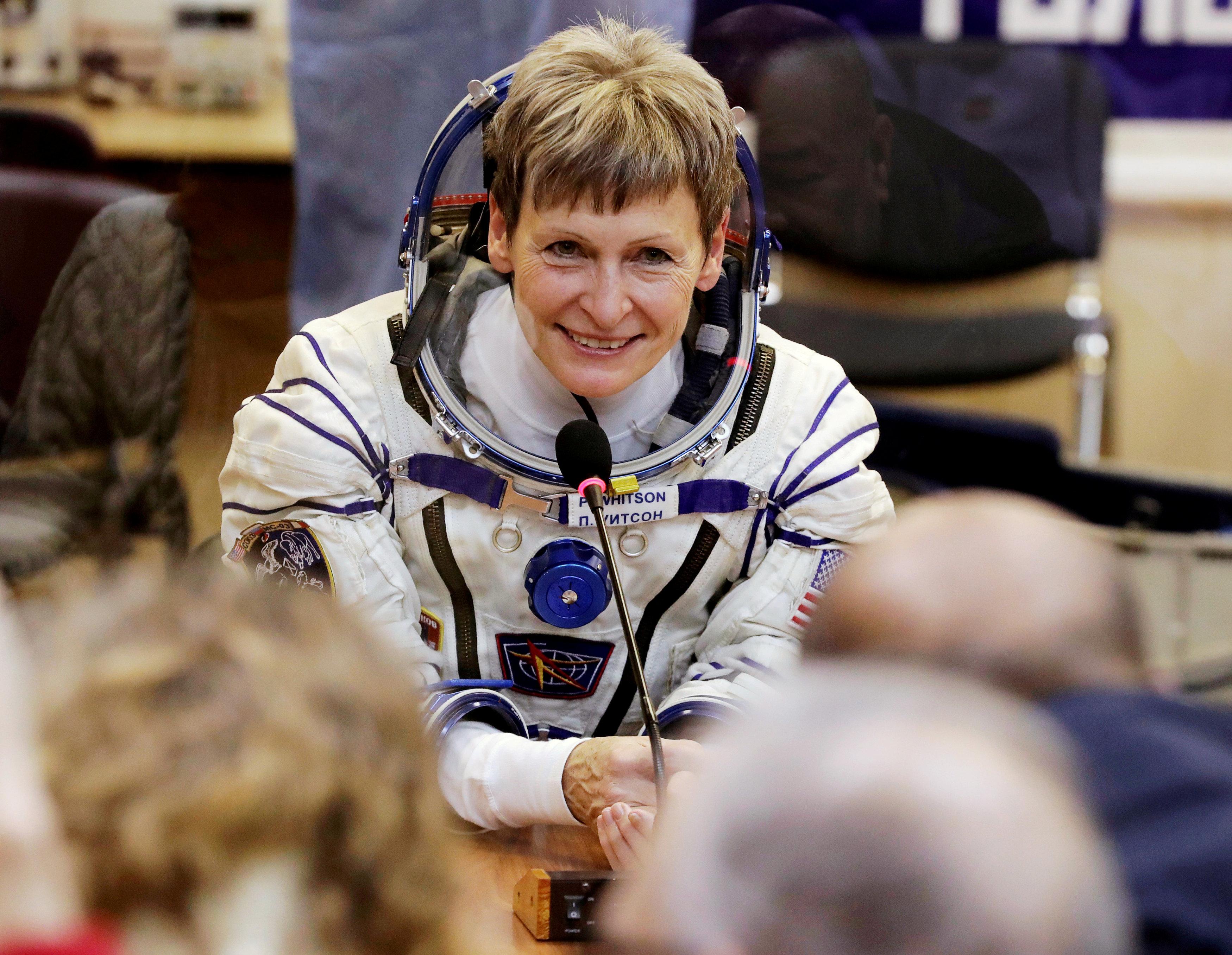 астронавт пегги уитсон фото системы