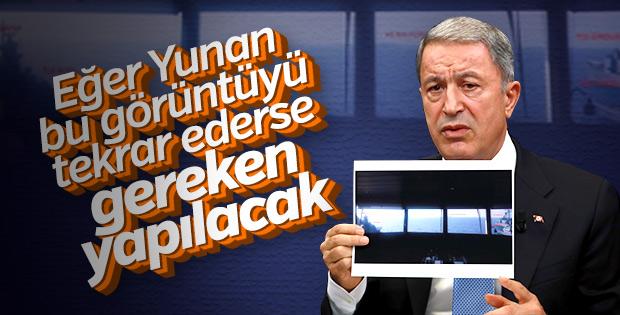Bakan Akar: Akdeniz'de provokasyona izin vermeyeceğiz