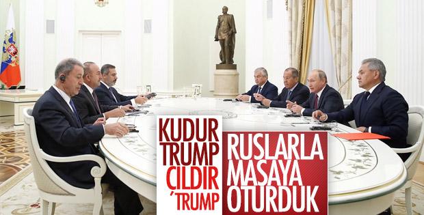 Suriye krizinin çözümünde Putin'den iş birliği sinyali