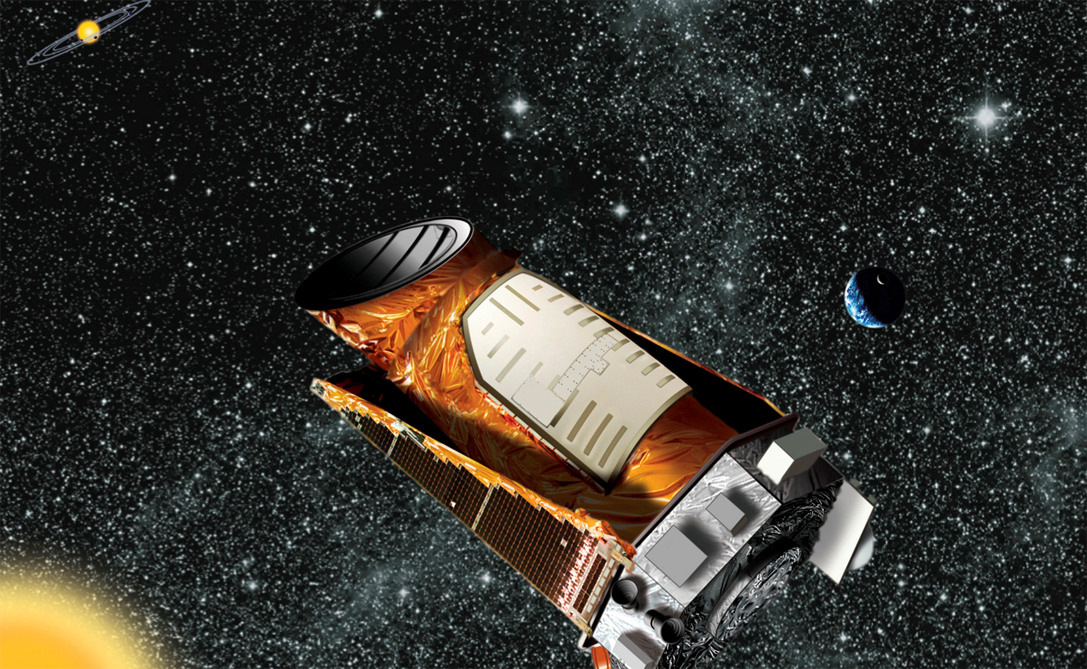 kepler spacecraft discoveries - HD1920×1200