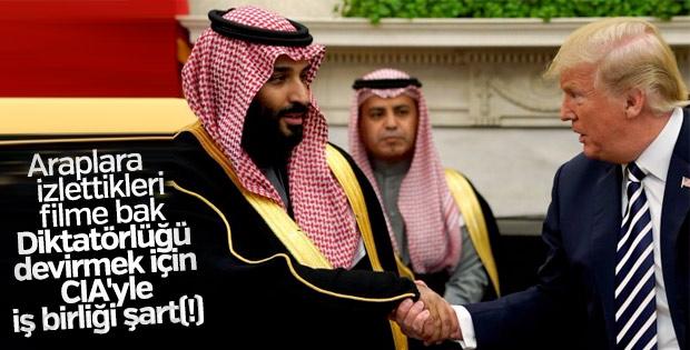 Suudilerde gösterime giren filmde ilginç ayrıntı