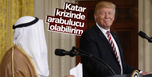 Trump, Katar krizinde arabulucu olmak istiyor