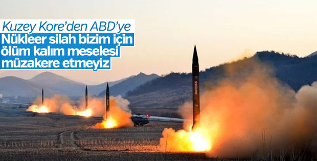 Kuzey Kore'den nükleer füze açıklaması