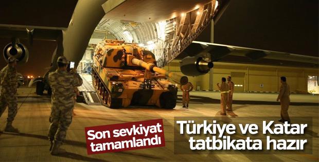 Türkiye'den Katar'a son sevkiyat yapıldı