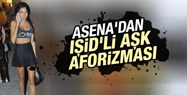 Asena Erkin'in IŞİD tweet'i kızdırdı