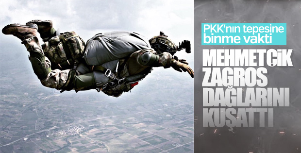 Türk askeri Zagros'u kuşatmaya aldı