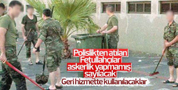FETÖ'den ihraç edilen polisler askerlik yapacak
