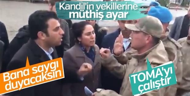 Askerden HDP'li vekile: Sen benim vekilim değilsin