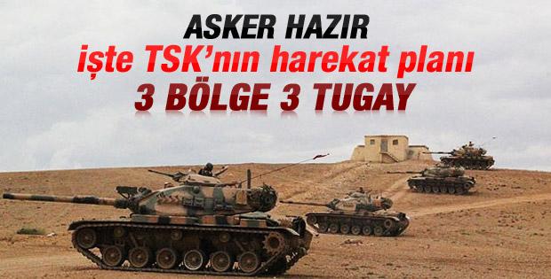 Türkiye Suriye'de 3 güvenli bölge oluşturacak