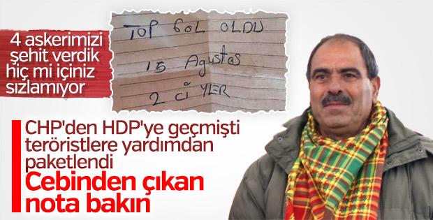 Askerlerimizin şehit olmasına sevinen HDP'li