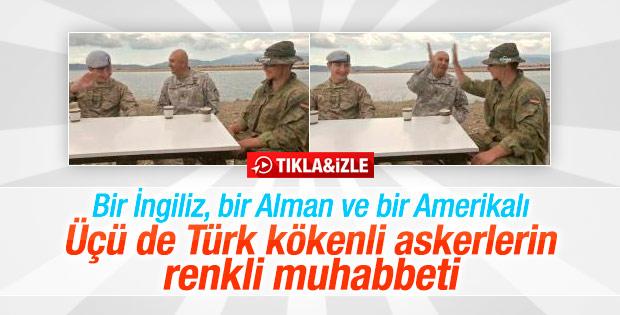 Türk kökenli askerler Efes 2016 tatbikatında buluştu