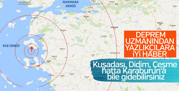 Prof.Dr. Ercan: Yazlıklarınıza gidin