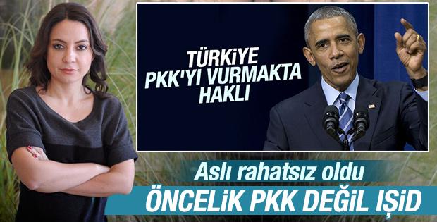 Obama Türkiye'ye 'öncelik PKK değil IŞİD' dedi mi