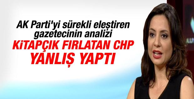 Aslı Aydıntaşbaş'tan CHP'ye tepki