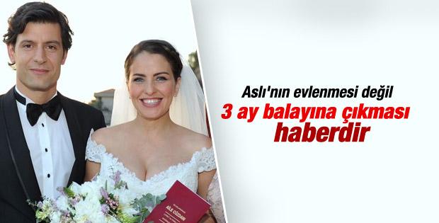 Aslı Tandoğan evlendi