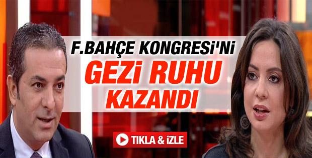 Aydıntaşbaş: Fenerbahçe Kongresi'ni Geziciler kazandı - izle