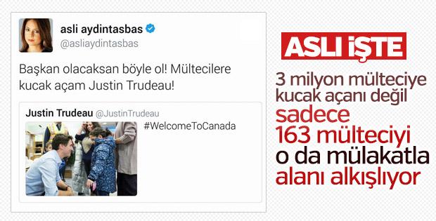 Aslı Aydıntaşbaş Kanada'yı nasıl öveceğini şaşırdı