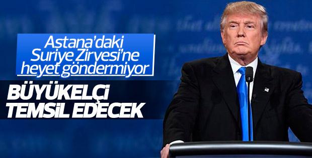 ABD Astana'da büyükelçiyle temsil edilecek