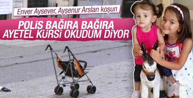 Asya bebeği Taksim'den kurtaran polisler konuştu