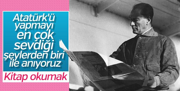 Atatürk ve kitap sevgisi