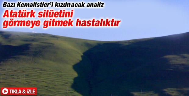 Erdoğdu: Atatürk silüetini görmeye gitmek hastalıktır