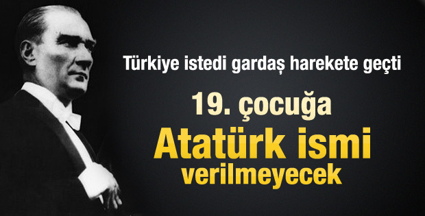 Azerbaycan'da Atatürk ismine yasak geldi
