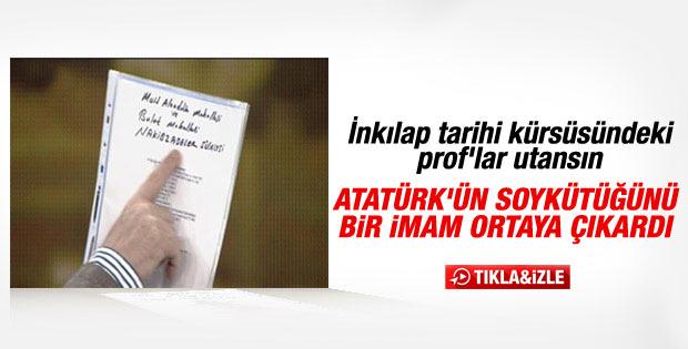 İşte Atatürk'ün soykütüğü İZLE