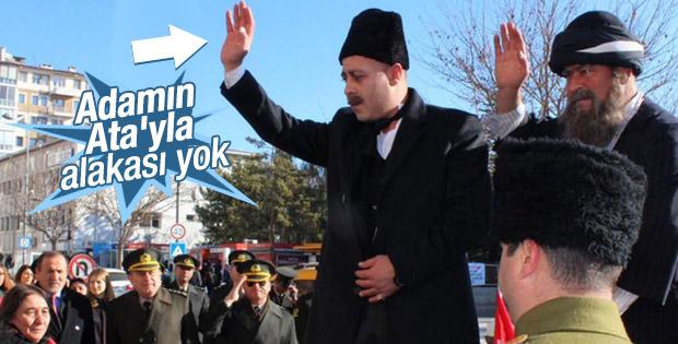 Atatürk'ün Sivas'tan ayrılışı canlandırıldı