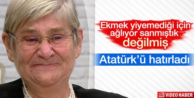 Canan Karatay'ın Atatürk gözyaşları