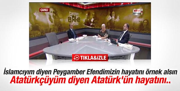Hacettepeli Prof'tan Atatürk çıkışı
