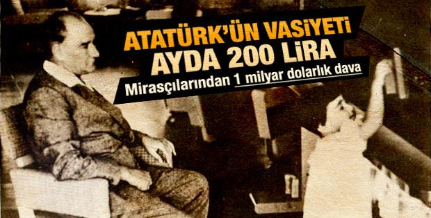 Atatürk'ün manevi torunlarından İş Bankası ve CHP'ye dava