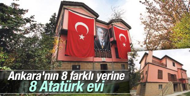 Ankara'ya 8 Atatürk evi yapılıyor