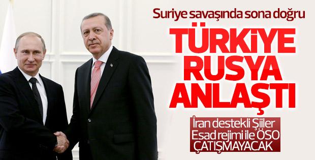 Türkiye ve Rusya Suriye'de ateşkes için anlaştı