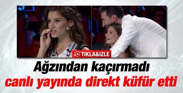 X Factor Türkiye'de Atiye'den küfürlü destek