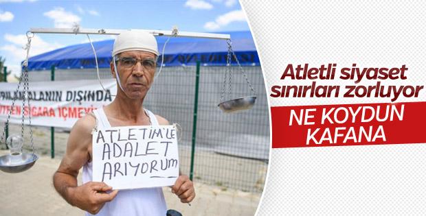 Atletle adalet arayan CHP'li