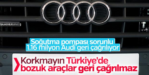 Audi 1.16 milyon aracı geri çağırıyor