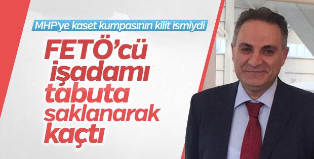 FETÖ'cü şirket sahibi Bayındır 15 Temmuz'da tabutla kaçtı