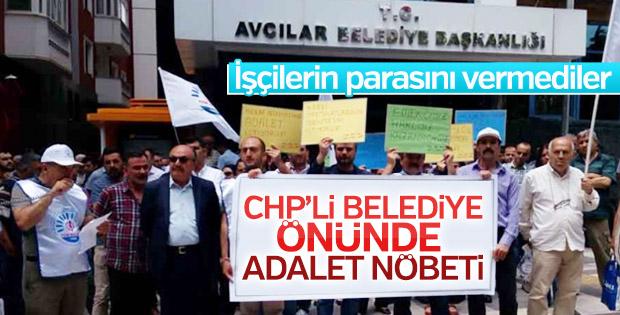 CHP'li belediye işçileri isyan ettirdi