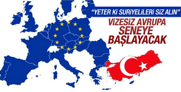 AB Türkiye'nin vize serbestisi şartını kabul etti
