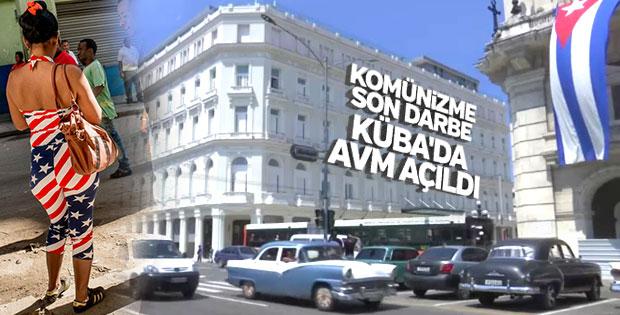 Küba'da bir ilk: AVM açıldı
