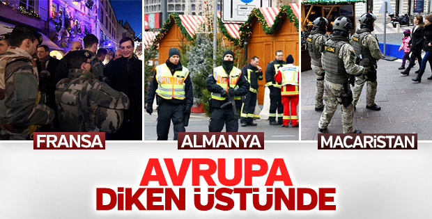 Avrupa ülkeleri terör saldırısı nedeniyle kırmızı alarmda
