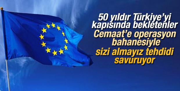 Avrupa Birliği'nden operasyonla ilgili açıklama geldi