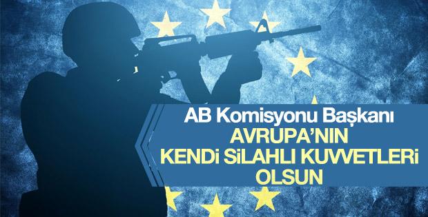 Avrupa Birliği için silahlı kuvvetler önerisi