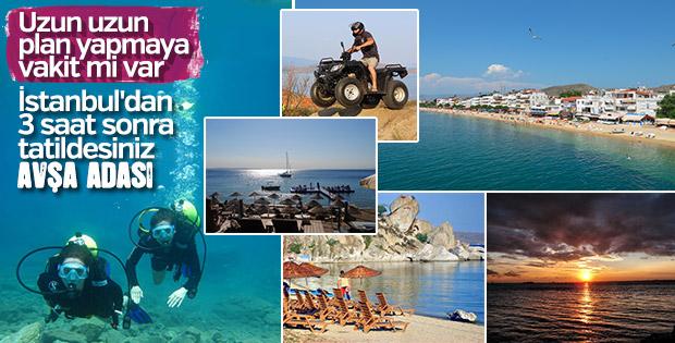 Marmara'nın tatil rotası: Avşa Adası