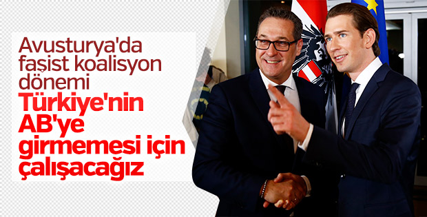 Avusturya'nın yeni hükümeti Türkiye aleyhinde çalışacak