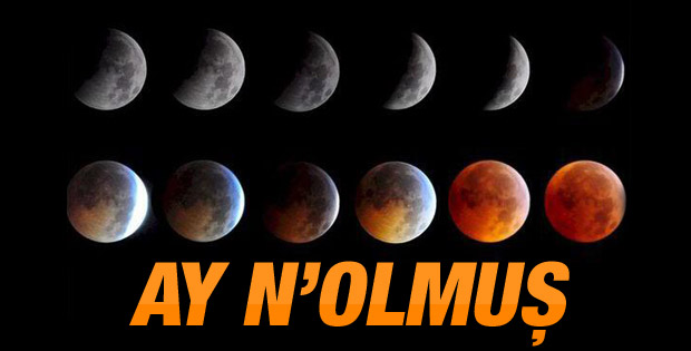Dünya kanlı Ay Tutulmasını izledi