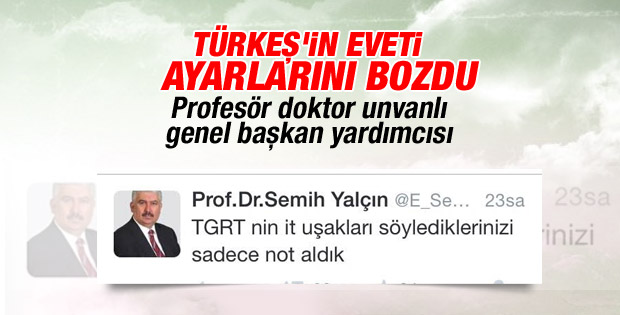 MHP'li Semih Yalçın televizyonculara hakaret etti